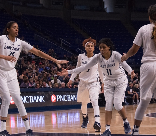 Lady Lions Defeat Ohio 74-65 to Advance in WNIT