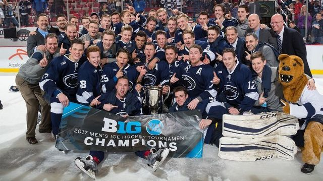 Penn State Ties Record in 1st NCAA Hockey Tournament Game