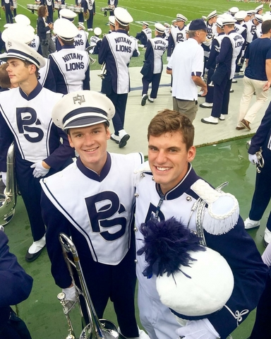All in the Family: Jack Frisbie Named Brother's Successor as Blue Band Drum Major