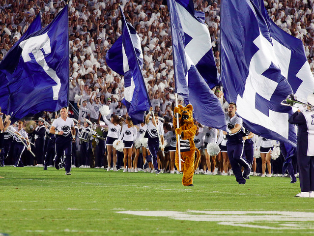 Penn State announces times for four football games
