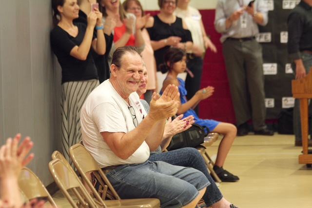 Park Forest Elementary Celebrates Retiring Custodian with Surprise Farewell