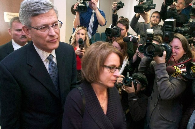 Former Penn State president gets jail time in Paterno scandal