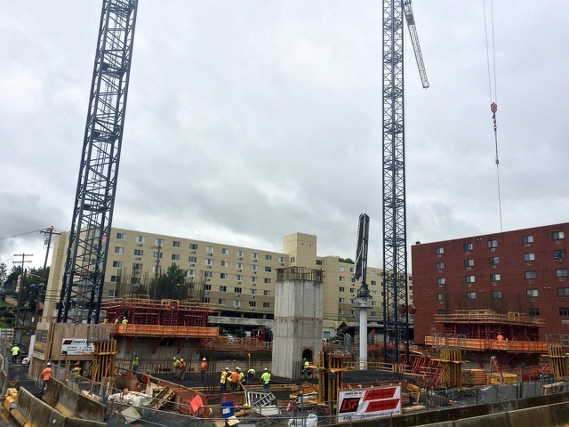 Early Noise Advisory Issued for High Rise Construction Work