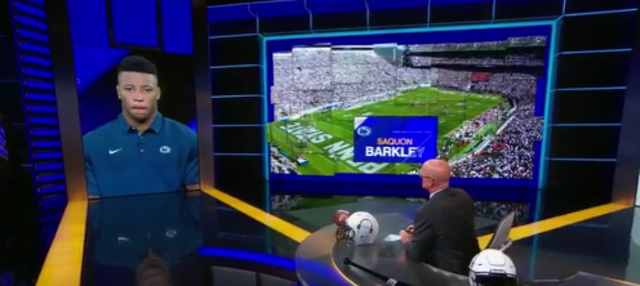 Penn State Football: Watch Saquon Barkley On SportsCenter