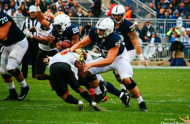 Penn State Football: Like The Rest Of The Line, Connor McGovern Playing With Confidence