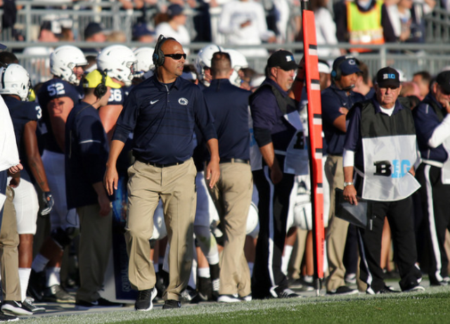 Pitt coach Pat Narduzzi fires back at Penn State's James Franklin: 'They went low, we went high'