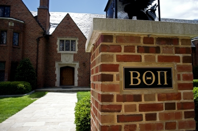 Beta Theta Pi Cited for Opening House to Alumni to Stay in on Football Weekends