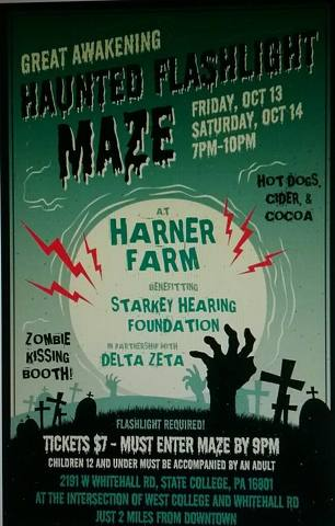 Penn State Sorority, Harner Farm Collaborate for Frightful Fundraiser