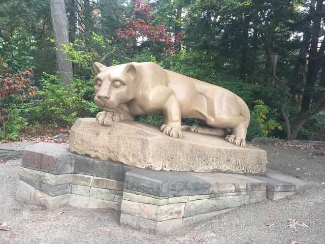 Nittany Lion Shrine Marks 75 Years