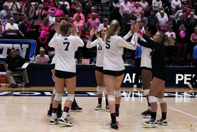 No. 1 Penn State Women's Volleyball Bests No. 9 Wisconsin