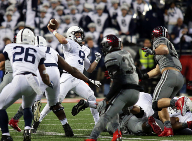 Michigan State holds on for rain-soaked win over Penn State