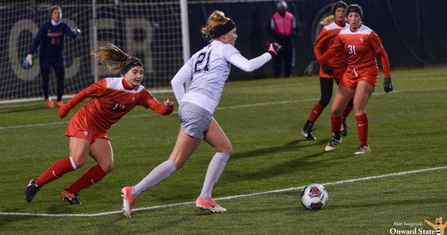 Penn State Women's Soccer Routs Stony Brook to Advance to NCAA 2nd Round