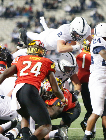 Penn State 66, Maryland 3: Time Waits for No Man... Just Ask James Franklin