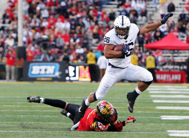 Paul Hornung Award victor  is Saquon Barkley