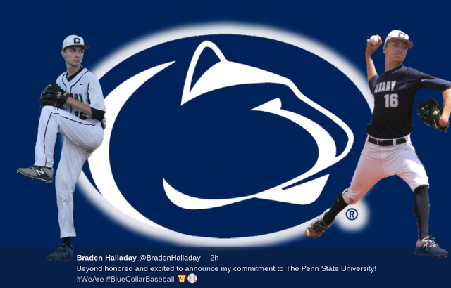 Penn State Baseball: Braden Halladay, Son Of Roy Halladay Commits To Penn State