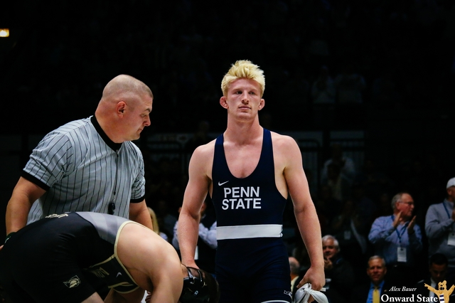 Nittany lions pounce on Panthers, 59-48