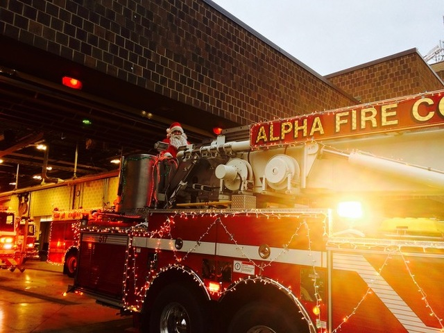 Alpha Fire Company to Bring Christmas Joy to Centre Region with Annual Santa Run