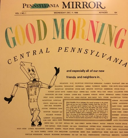 The Old Pennsylvania Mirror: When a Morning Newspaper Went to Sleep