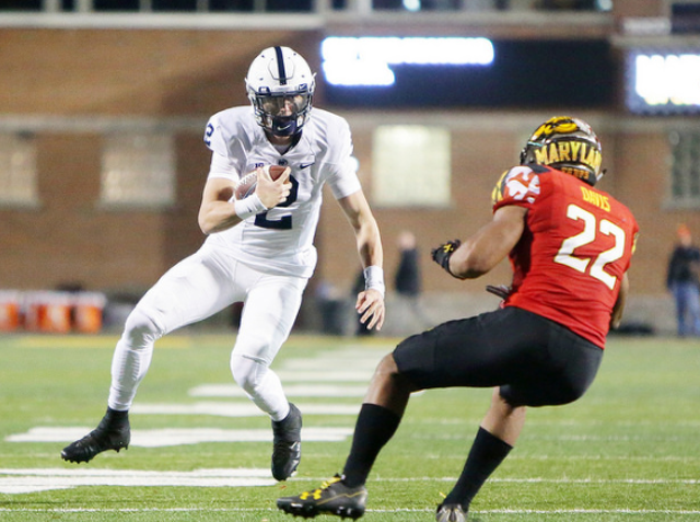 Penn State Football: Stevens Set At Quarterback, Not Thinking About Future