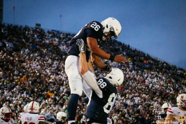 James Franklin hurting from punch to ribs from Penn State QB