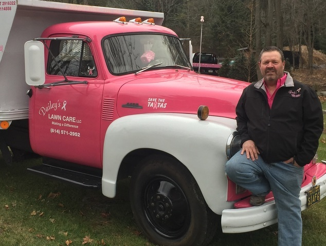 About That Pink Truck: Mom's Battle Inspired Fred Dailey to Spread Breast Cancer Awareness