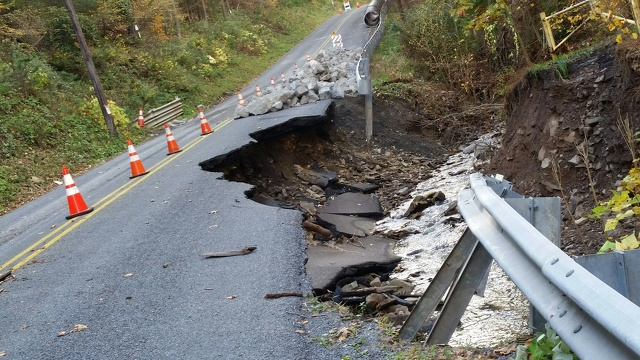 FEMA Awards Additional Funding for Purdue Mountain Road Repair
