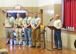 Centre Hall Boy Scouts receive Eagle Scout pins