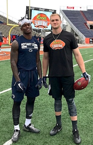 Penn State Football: Gesicki & O'Brien Reunited Again
