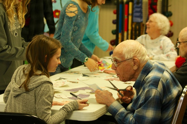 Art Project Connects Generations