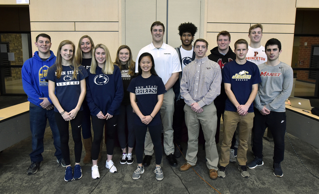 State High Athletes Announce College Destinations