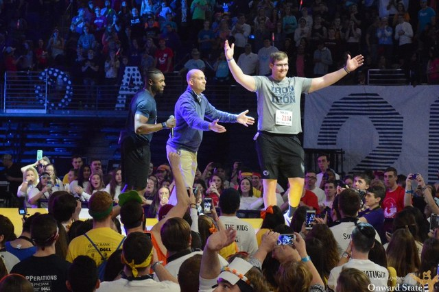 Joined by Nick Scott and Charlie Shuman, James Franklin Speaks at THON