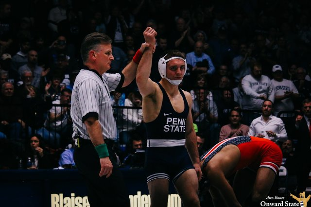 Penn State Wrestling: Nittany Lions Cap Undefeated Dual Season with Record-Setting Performance Against Buffalo