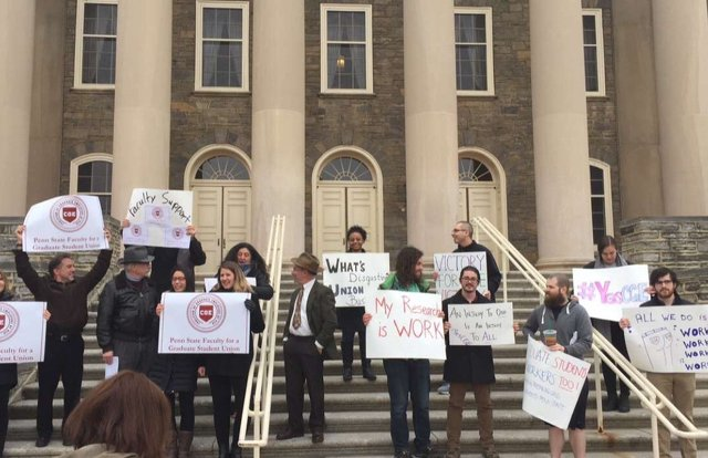 Penn State Graduate Student Union Election Tentatively Scheduled for April