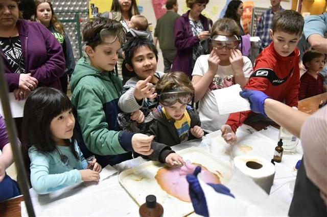Exploration-U Offers a Night of Science for the Community