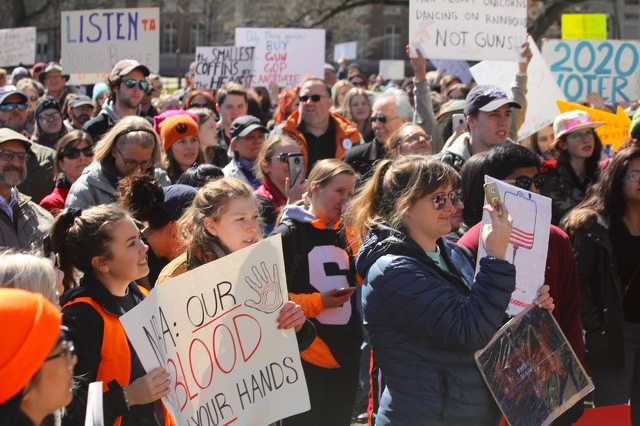 Marin moms demand action, prepare for marches against gun violence