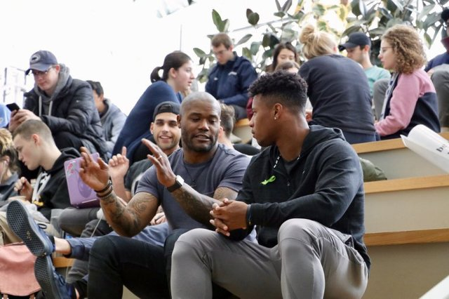Michael Robinson Visits Saquon Barkley in NFL Network's 'Back2Campus'