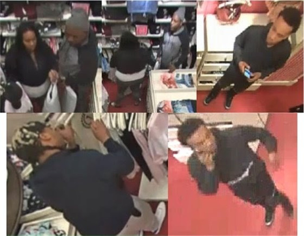 Suspects Sought in Theft from Victoria's Secret