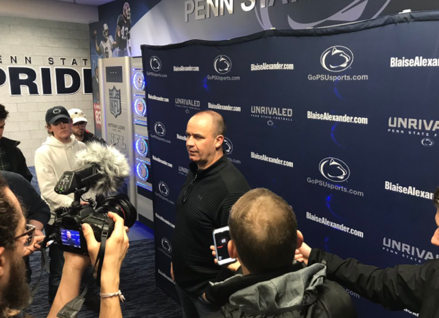 Bill O'Brien heading back to Penn State for coaching clinic