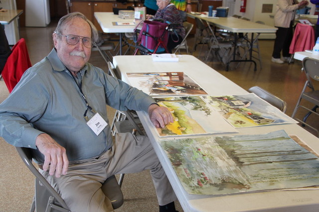At 90, Jim Cartey Inspires OLLI Students with Art and Humor