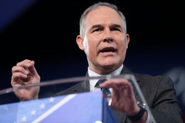 Letter: Pruitt Needs to Resign