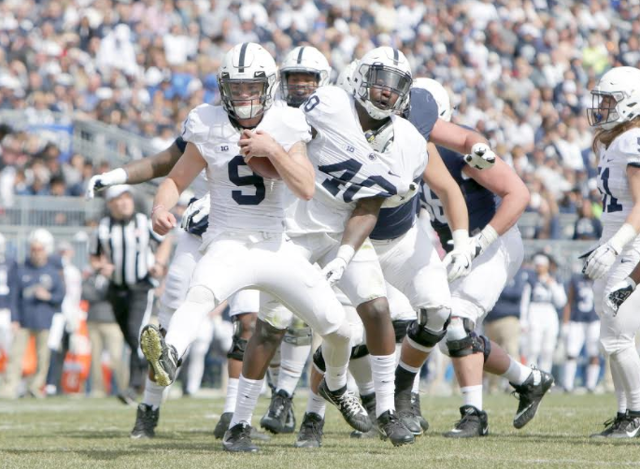 Blue White Game Showcases The Obvious: It's Trace McSorley's Team In 2018