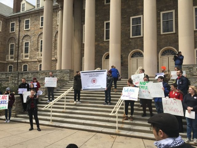 Penn State Graduate Students Vote Against Unionization