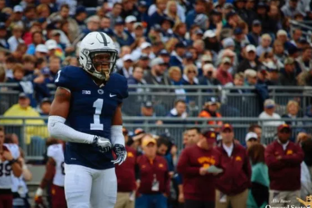 Penn State Football Christian Campbell Selected By Cardinals In Sixth Round