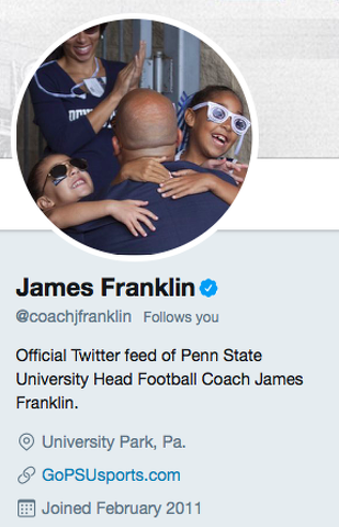 Penn State Football Ranks No. 3 in Big Ten Social Media Standings