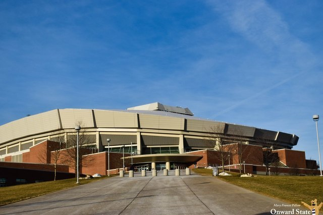 Bryce Jordan Center Employee Allegedly Recorded Video of People in Men's Bathroom, Including During State High Prom
