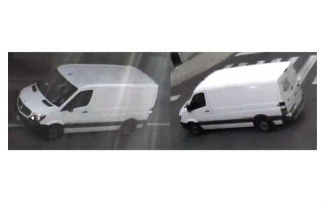 Police Looking for Van and Driver Involved in Hit-and-Run