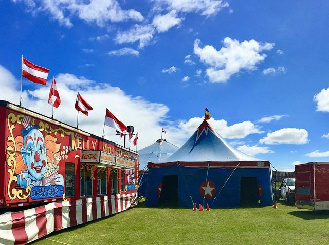 Circus Coming to Grange Fairgrounds