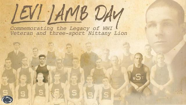 Levi Lamb Day to Recognize Pioneering Penn State Athlete and Fallen Soldier