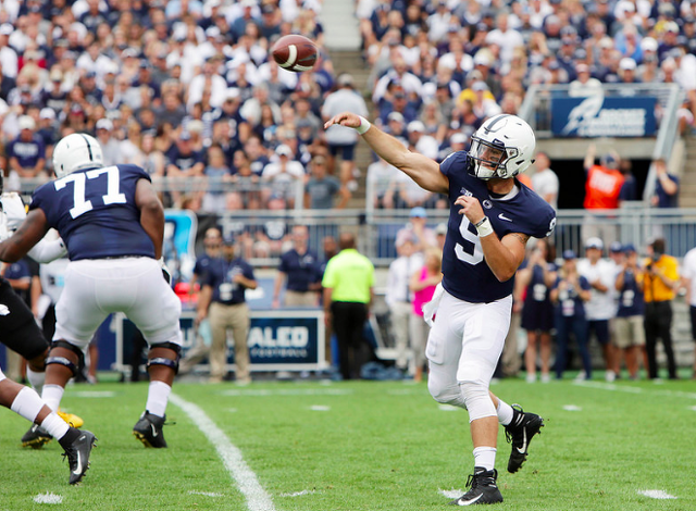 Penn State Re-Emerges as a Contender in Landslide Win Over Pitt