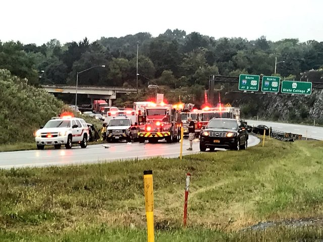 Bellefonte Man Killed in Crash on Route 322